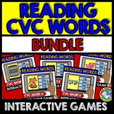 CVC WORDS INTERACTIVE GAMES BUNDLE (READING CVC WORDS BOOM