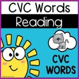 CVC WORDS - Reading and Writing Center. Google Slides.