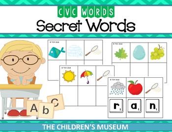 CVC WORDS - SECRET WORDS