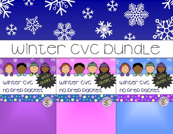 CVC Winter Bundle - Short A, O, U
