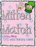 CVC Winter Literacy Center: Mitten Match