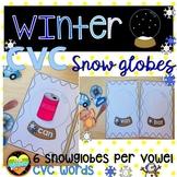 CVC Winter Snow globes