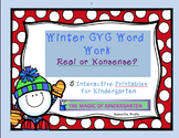 CVC Winter Word Work