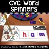 CVC Word Activities {CVC Word Spinners}