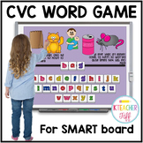 CVC Word Activities for SMARTboard