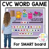 CVC Word Activities for SMARTboard