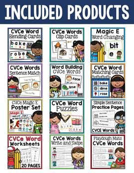 CVCe Word Activity Bundle - Magic E