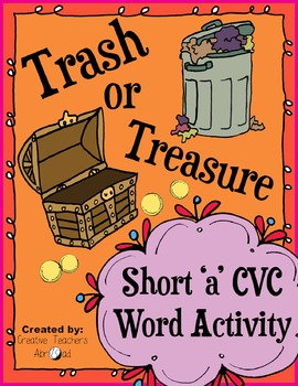 CVC Word Activity - Short 'a'