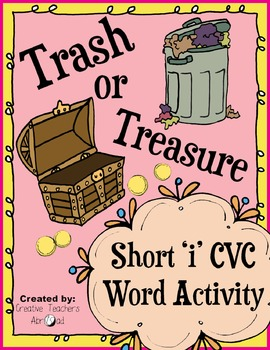 CVC Word Activity - Short 'i'