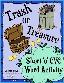 CVC Word Activity - Short 'o'