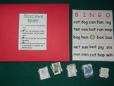 CVC Word BINGO Literacy center classroom resource tool