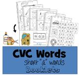 """CVC Words Cut & Paste Booklet - Short """"a"""" vowel"""