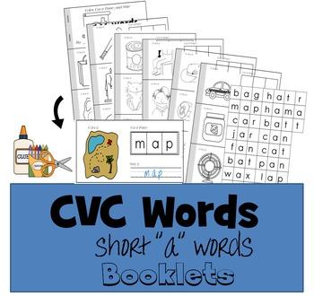 "CVC Word Booklet - Short ""a"" vowel"