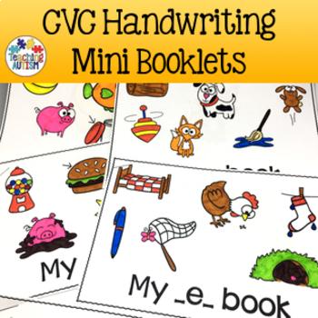 CVC Activities: Word Booklets