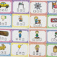 CVC Word Boxes Task Cards