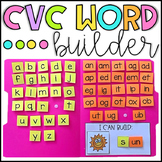 CVC Word Builder Activity - Word Families