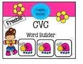 CVC Word Builder ~ Freebie