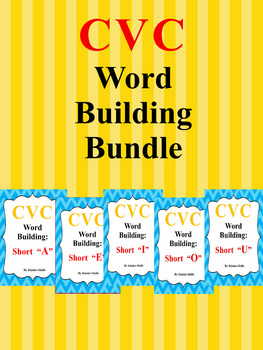 CVC Word Building Bundle