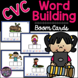 CVC Boom Cards - Word Building - Free! | Distance Learning