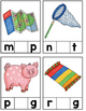 CVC Word Building Cards (Blank and Missing Letter)