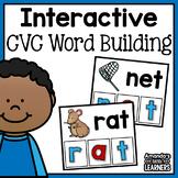 CVC Word Building Cards - Free