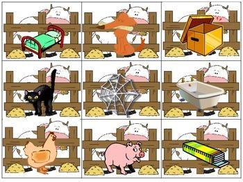 CVC Word Building Farm Themed Literacy Center Daily 5 Word Work Activity