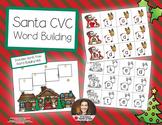 CVC Word Building - Help Santa Fly His Sleigh!