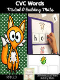 CVC Word Activities Building Mats Medial O: Differentiated Literacy Center