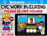 CVC Word Building   Mixed Short Vowels   Construction Zone