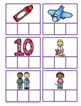 CVC Word Building Short Vowels - BUNDLE