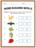 CVC Word Building Worksheets