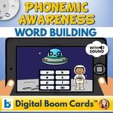 Word Building Phonics Digital Boom Task Cards