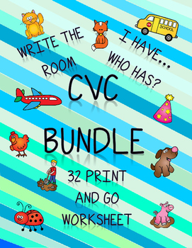 CVC Word Bundle