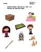 CVC Word Bundle- Jigsaw puzzles, picture hunt, matching ac