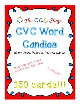 {DISCOUNTED ITEM} CVC Word Candies