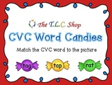 CVC Word Candies - PowerPoint Game
