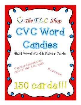 {DISCOUNTED ITEM} CVC Word Candies