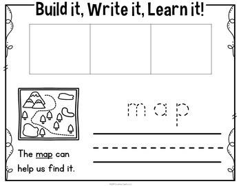 CVC Word Building Cards Bundle