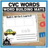 CVC Word Building Mats