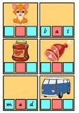 CVC Word Card Game