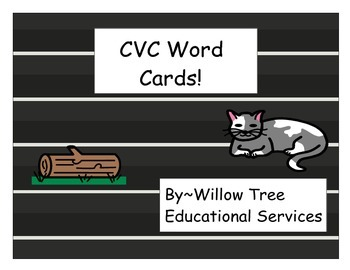 Literacy Center CVC Differentiated Cards!