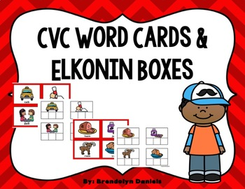 CVC Word Cards & Elkonin Boxes