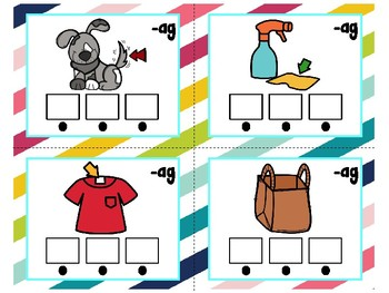 CVC Word Cards ( Write & Read )