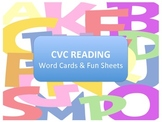 CVC Word Cards and Fun Sheets