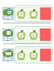 CVC Word Cards for Final Consonant Deletion- Apple Themed