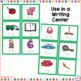 CVC Word Cards for Writing Bundled