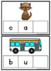 CVC Word Cards {Write & Wipe}