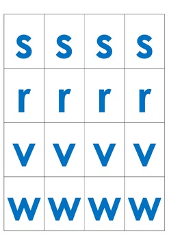 CVC Word Center Initial Sounds Cards