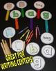 CVC Word Center Stick Puppets Literacy Preschool ECE Kindergarten