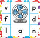 CVC Word Clip Cards: Initial and Final Sound